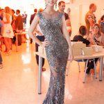 Kim Tuyến diện váy xuyên thấu dự show ở Tây Ban Nha