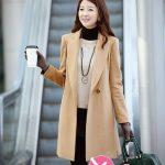 Áo khoác nữ măng tô dáng dài đẹp Hàn Quốc cô nàng cao ráo mảnh khảnh mùa đông
