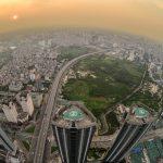 Hà Nội trong khoảnh khắc thành phố lên đèn