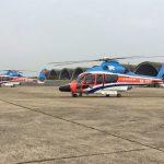 Lần đầu tiên khai thác dịch vụ bay tham quan bằng trực thăng
