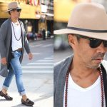Gu thời trang sành điệu của người đàn ông Việt 63 tuổi